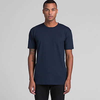 as colour staple tee front